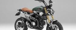 Honda Grom 50 Scrambler Concept. Scrambler în stil monkeybike