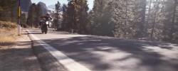 KTM Super Duke 1290 GT în mișcare
