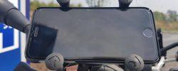 Cred c-am găsit cel mai bun suport de smartphone pentru motocicletă