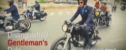 Cum a fost la Distinguished Gentleman's Ride 2016 VIDEO