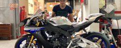 Am scos din cutie o Yamaha R1M 2018. Prima cheie