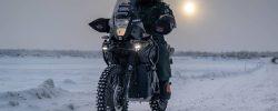 Cu motocicleta, la -50 de grade, în inima Siberiei