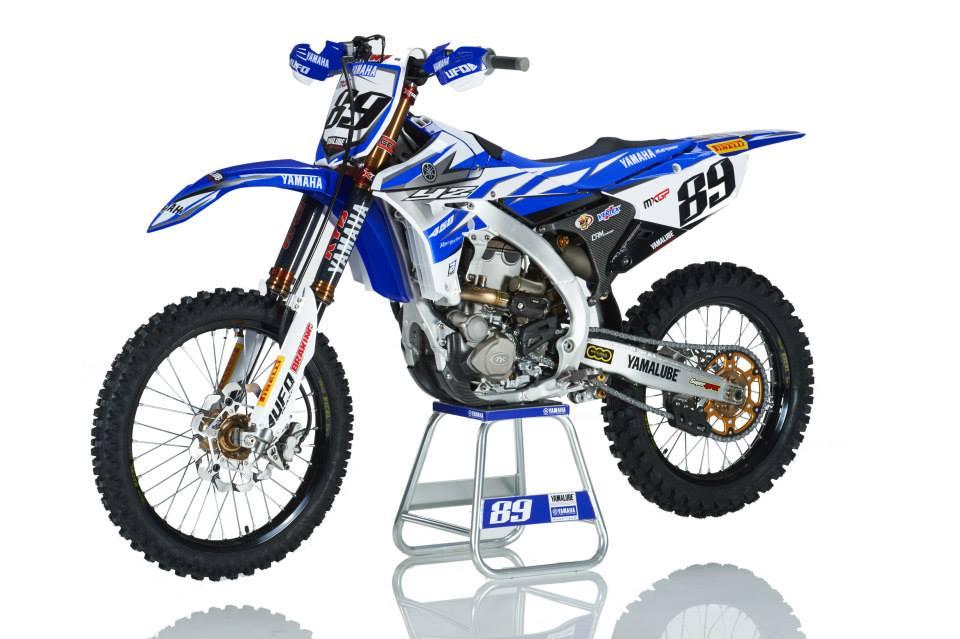 2015 Yamaha Factory Racing Yamalube YZ450FM