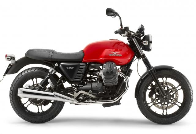 Moto Guzzi V7+Stone