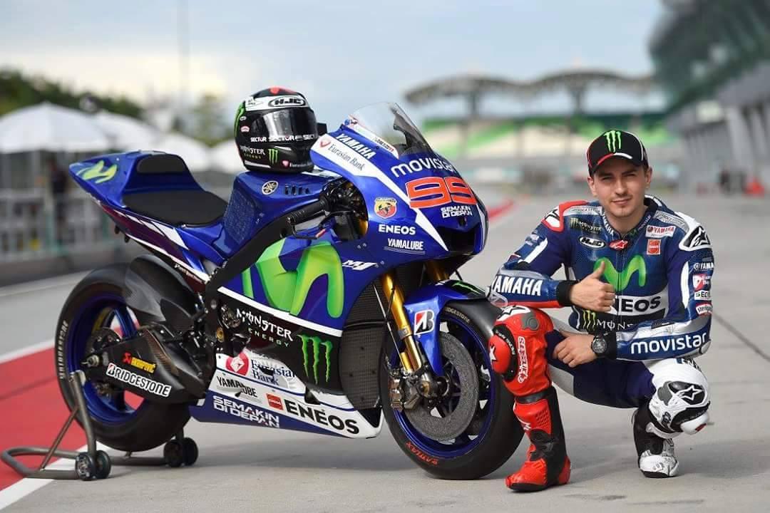 Jorge Lorenzo - Yamaha M1 MotoGP