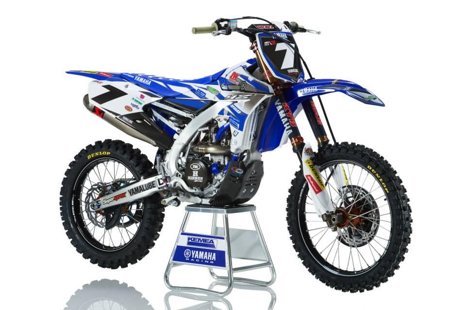 KEMEA Yamaha Racing 2015 YZ250F