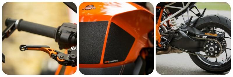 KTM Super Duke 1290 R collage3