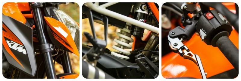 KTM Super Duke R collage