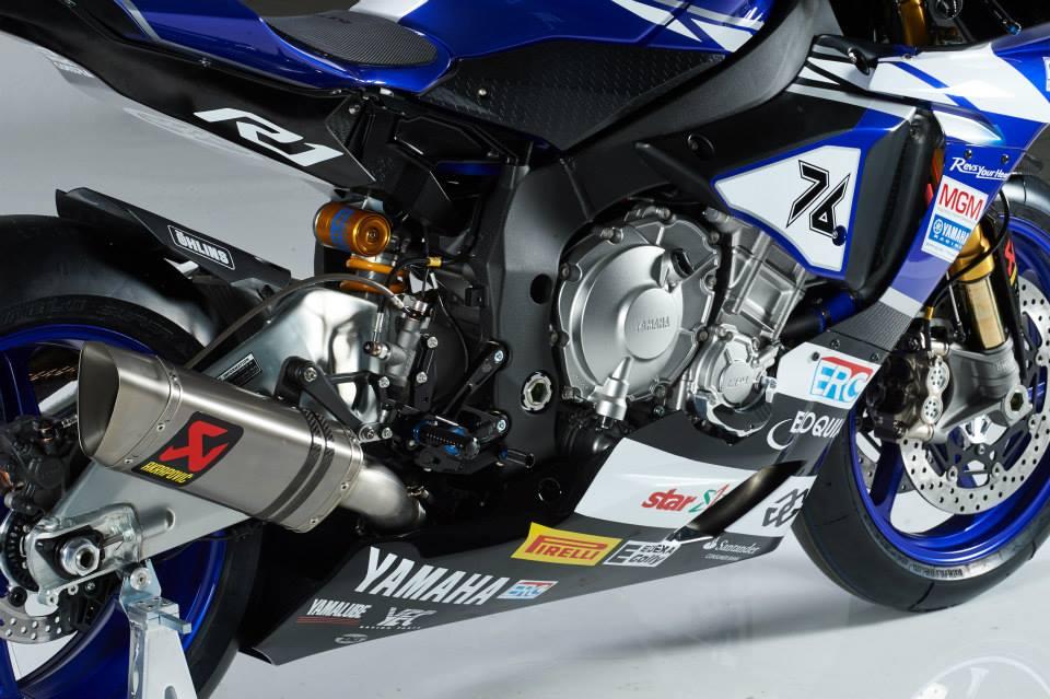 MGM Yamaha 2015 YZF-R1M