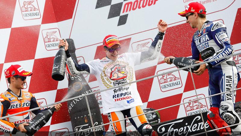 Marc Marquez Campion MotoGP 2013