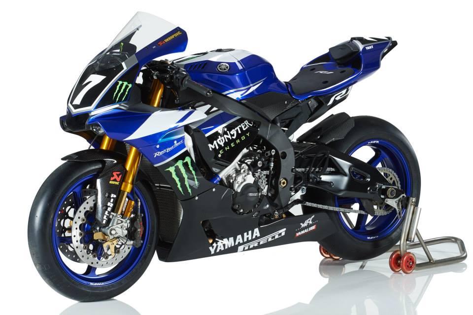 Monster Energy Yamaha YART 2015 YZF-R1