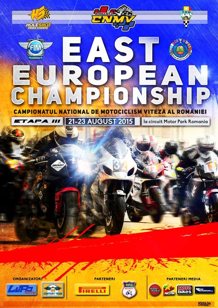 Poster Campionat Est European si National de Motociclism Viteza