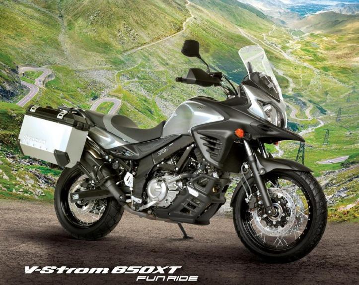 Suzuki V-Strom 650 Fun Ride