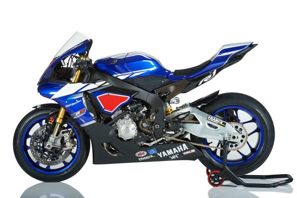 Team MRS Yamaha 2015 YZF-R1M