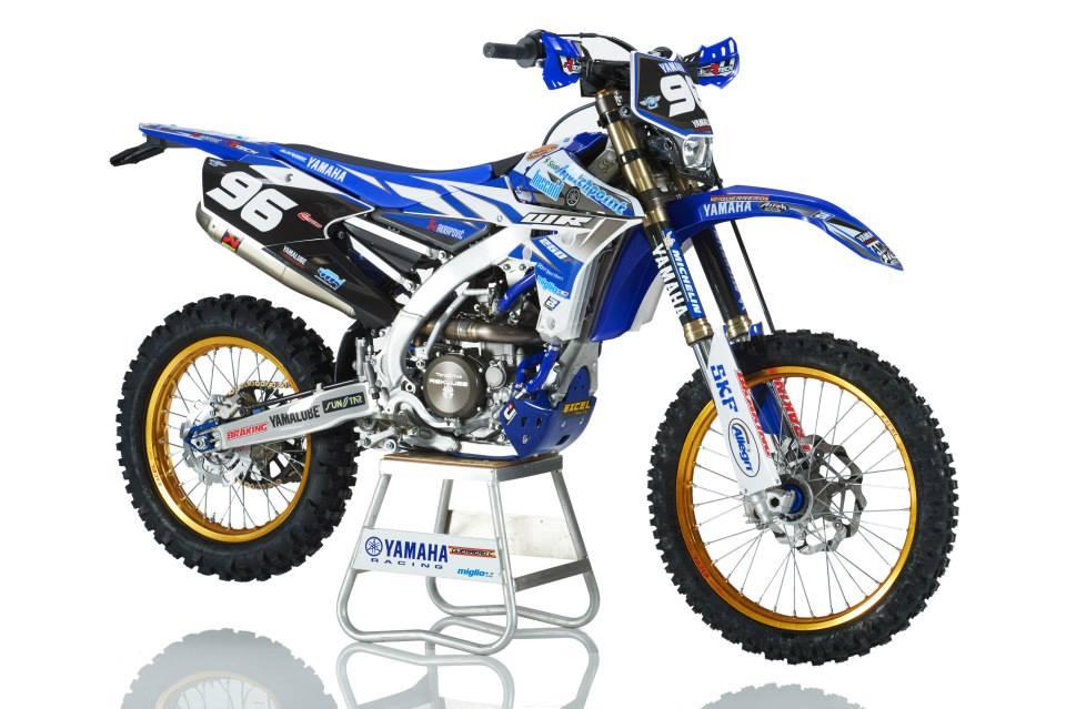 Team Yamaha Miglio 2015 WR250F