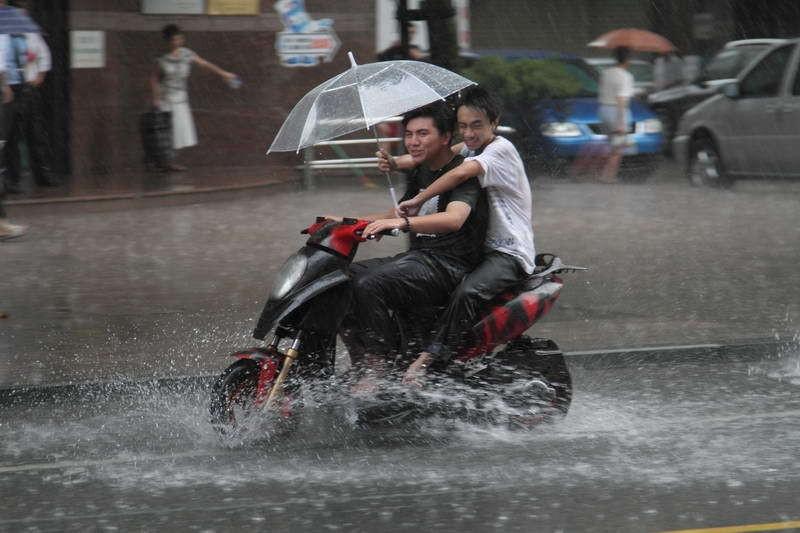 rain-riding