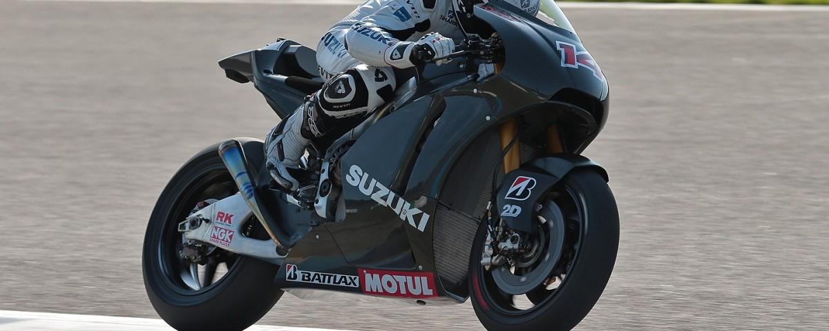suzuki test motogp