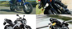 Motociclete naked second hand. Hornet vs. Z750 vs. GSF 600 vs. GSR vs. FZ6. Comparativ